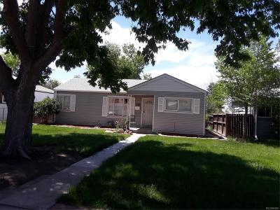Aurora, Denver Single Family Home Under Contract: 1665 Moline Street