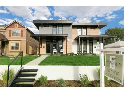Condo/Townhouse Under Contract: 2462 South Gilpin Street