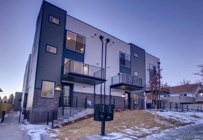 West Colfax Condo/Townhouse Under Contract: 1289 Quitman Street