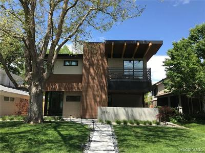 Denver Single Family Home Active: 2575 South Fillmore Street