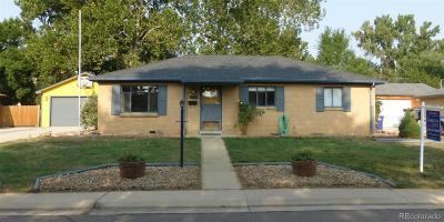 Wheat Ridge Single Family Home Under Contract: 4565 Flower Street