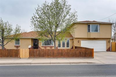 Commerce City Single Family Home Active: 6580 East 70th Avenue