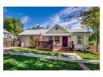 Longmont Single Family Home Under Contract: 200 Sherman Street