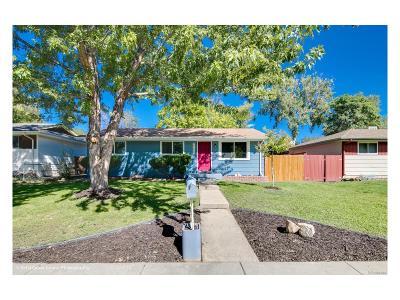 Denver Single Family Home Active: 2789 West Hillside Avenue