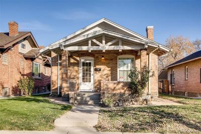 Denver Single Family Home Active: 4010 Shoshone Street