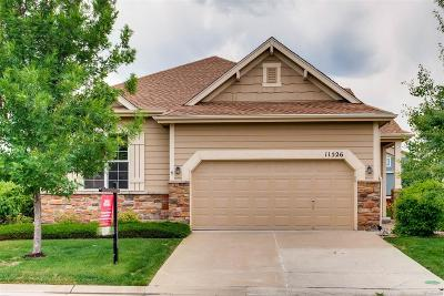 Littleton Single Family Home Under Contract: 11526 West Cooper Place