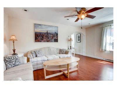 Denver Single Family Home Active: 833 East Evans Avenue