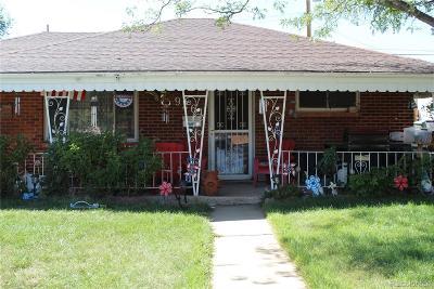 Thornton Single Family Home Under Contract: 9261 Harris Street