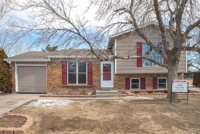 Broomfield Single Family Home Under Contract: 2325 Ridge Circle