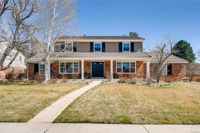 Centennial Single Family Home Under Contract: 7394 South Pontiac Way