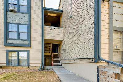 Aurora Condo/Townhouse Under Contract: 467 South Memphis Way #12