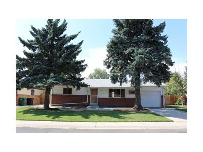 Westminster Single Family Home Under Contract: 9147 Lasalle Place