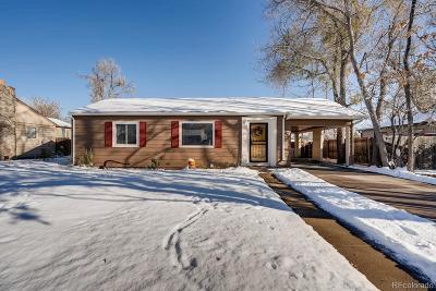 Denver Single Family Home Active: 852 South Raritan Street