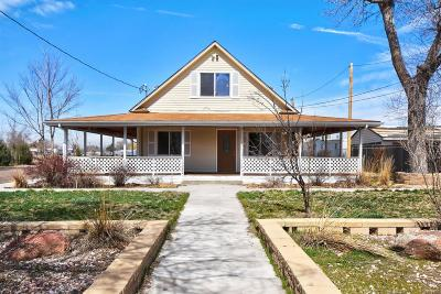 Greeley Single Family Home Active: 1115 East 20th Street