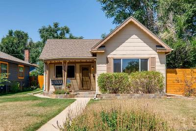 Denver Single Family Home Active: 4859 Raleigh Street