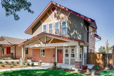 Denver Single Family Home Active: 4701 West 34th Avenue