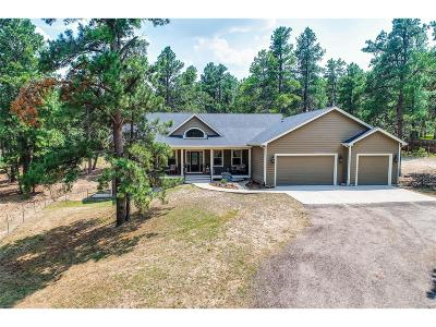 Elbert County Single Family Home Under Contract: 37730 Timber Drive