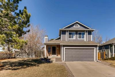 Castle Rock Single Family Home Under Contract: 329 North Wagonwheel Trail