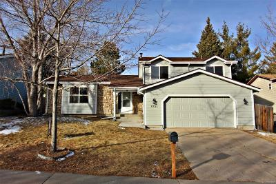 Aurora Single Family Home Active: 2721 South Salida Way