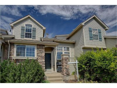 Castle Pines Condo/Townhouse Sold: 7351 Norfolk Place