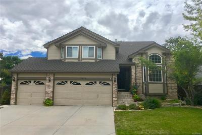 Lone Tree Single Family Home Under Contract: 9573 Las Colinas Drive