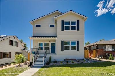 Denver Single Family Home Active: 4815 Stuart Street
