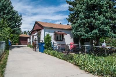 Englewood Single Family Home Active: 3341 South Zuni Street