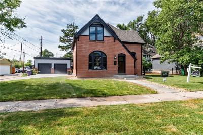 Denver Single Family Home Active: 3036 West 22nd Avenue