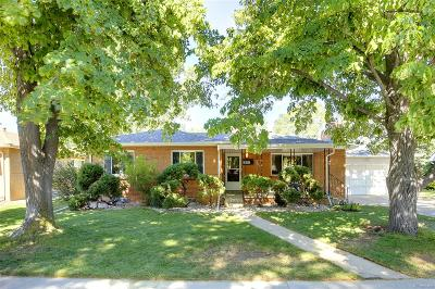 Wheat Ridge Single Family Home Under Contract: 3035 Webster Street