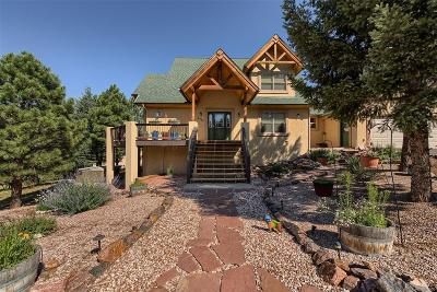 Larkspur CO Single Family Home Under Contract: $650,000