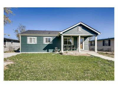 Commerce City Single Family Home Active: 7191 East 75th Place