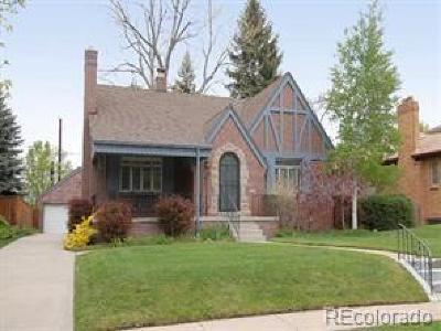 Denver Single Family Home Active: 1035 South Cove Way