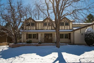 Englewood Single Family Home Active: 10828 East Crestridge Circle
