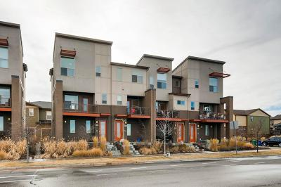 Denver Condo/Townhouse Active: 8336 East 35th Avenue