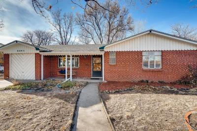 Wheat Ridge Single Family Home Active: 4341 Marshall Street