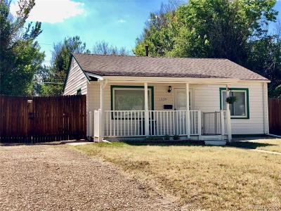 Aurora Single Family Home Active: 1139 Beeler Street