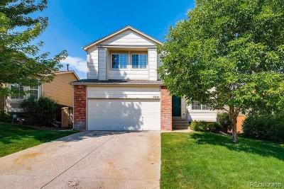 Highlands Ranch Single Family Home Under Contract: 9621 Castle Ridge Circle