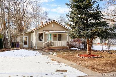 Denver Single Family Home Active: 4841 Benton Street