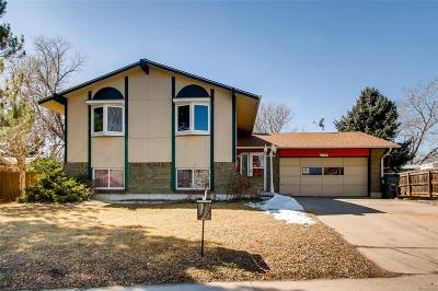 Westminster Single Family Home Under Contract: 7143 Xavier Way