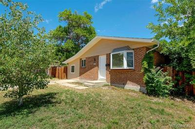 Denver Single Family Home Active: 1201 East 85th Place