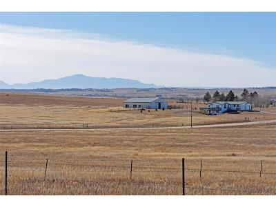 Kiowa Single Family Home Under Contract: 10900 County Road 126