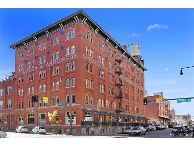 Denver Condo/Townhouse Active: 1450 Wynkoop Street #3F
