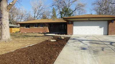 Wheat Ridge Single Family Home Active: 3100 Ward Court