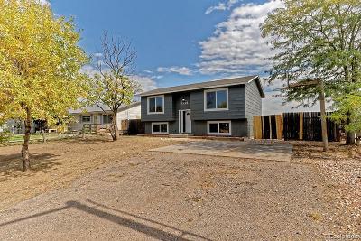 Platteville Single Family Home Under Contract: 1701 Bella Vista Drive