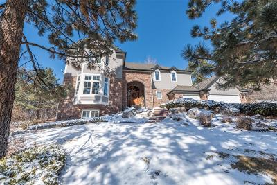 Castle Rock Single Family Home Under Contract: 823 Good Hope Drive