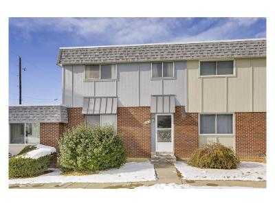Thornton Condo/Townhouse Under Contract: 8613 Santa Fe Drive