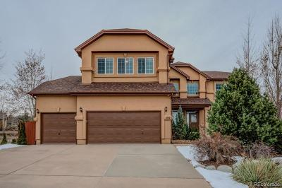 Colorado Springs Single Family Home Active: 1083 Prickly Pear Place