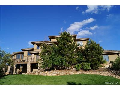 Castle Pines Single Family Home Active: 13062 Whisper Canyon Road