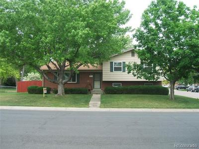 Northglenn Single Family Home Active: 11951 Irma Drive