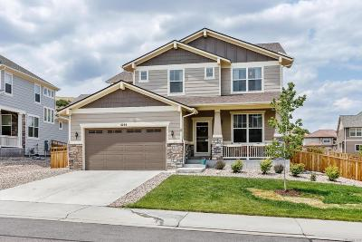 Castle Rock Single Family Home Under Contract: 4155 Zodiac Place
